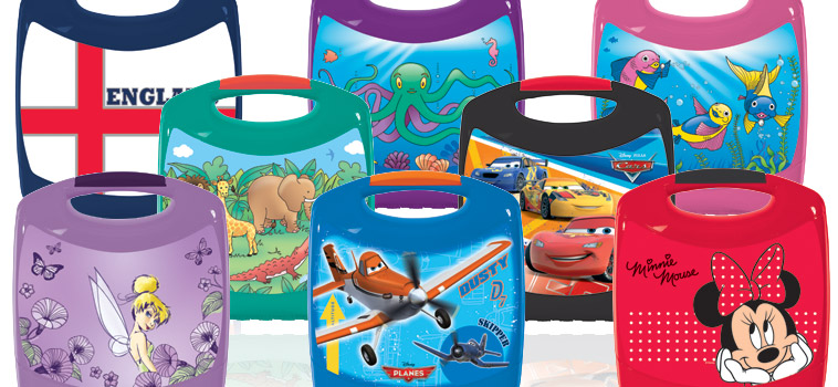 Eight lunchbox designs to choose from