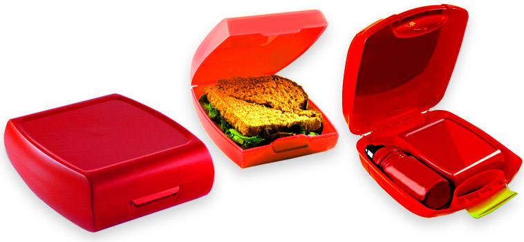 Sandwich box - tough and easy to clean